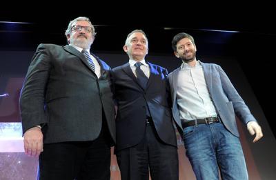 """E' rottura nel Pd, Emiliano-Speranza-Rossi: """"Renzi ha scelto la scissione"""""""