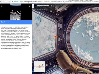 Google Street View vola nello spazio, si potrà visitare la ISS