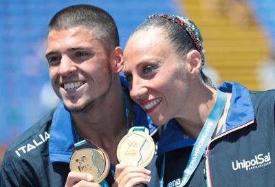Mondiali nuoto sincronizzato, oro Italia nel duo misto