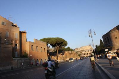 Roma, ipotesi barriere ai Fori Imperiali e via del Corso