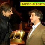 Tapiro d'oro per Alberto Angela