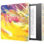 MoKo All-New Kindle Oasis Case (9ª Gen – modello 2017) – Custodia Origami Ultra Sottile con Funzione Auto Sveglia / Sonno per Nuovo Amazon Kindle Oasis E-reader, Cielo a Olio