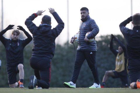 """Milan, Gattuso non si fida: """"Sono esperto di rimonte da 3-0—"""""""