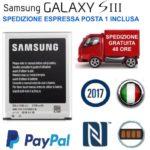 BATTERIA SAMSUNG S3 ORIGINALE EB-L1G6LLU PER GALAXY S3 i9300 SIII NEO 2100 mAh | eBay