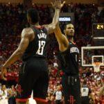 Basket Nba, finale Ovest: Houston ancora a segno, vacilla il trono di Golden State