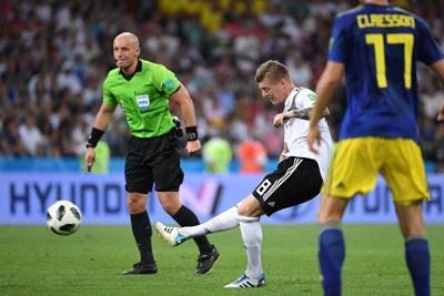 Miracolo Kroos, Germania salva al 95'