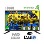 SMART TV LED ANDROID 40″ POLLICI SMART TECH FULL HD LE-4048SA DVB-T2/C WIFI LAN