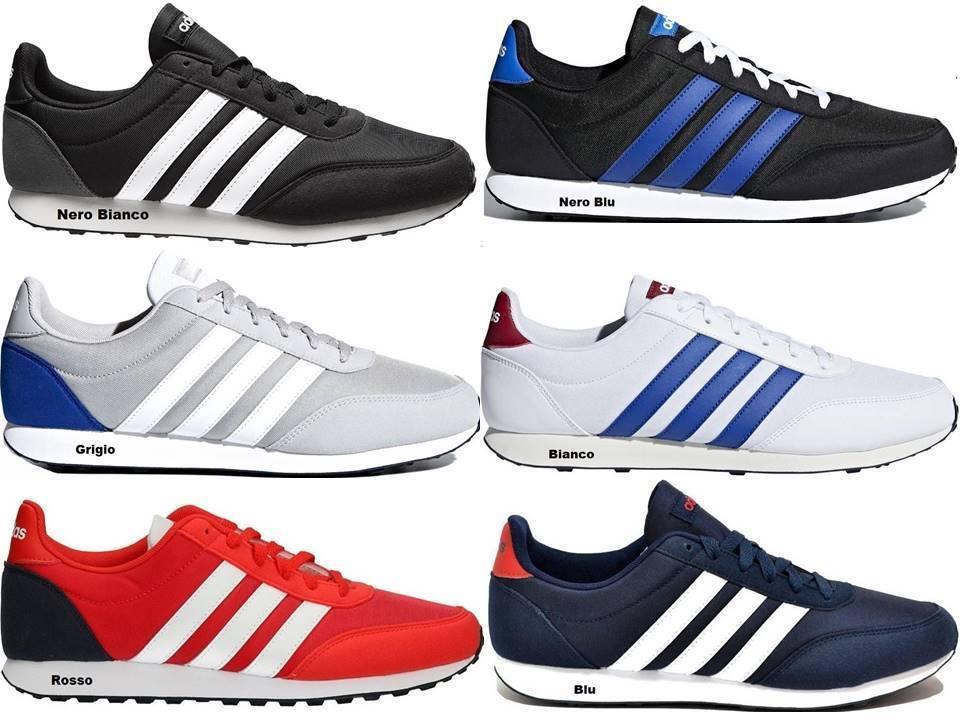 Adidas V RACER 2.0 CG5706 Blu Scarpe Uomo Sneakers Sportive Running – Offerte di Oggi