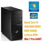 PC COMPUTER DESKTOP RICONDIZIONATO P910 QUAD CORE i5 RAM 4GB 500GB WINDOWS 7 PRO…