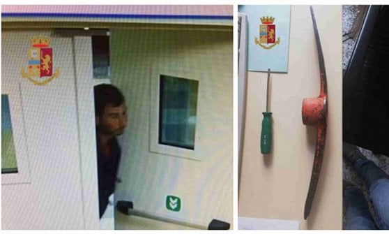 Milano, arrestato l'Arsenio Lupin degli ospedali: armato di piccone, derubava i distributori automatici