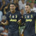 Ronaldo rosso, la Juve vince in 10