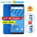 BLU Vernee M6 5.7″ 18:9 Octacore 4G LTE smartphone 4+64GB Android7.0 Fingerprint…