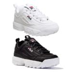 Fila Disruptor sneakers basse uomo donna 2 generazioni Prezzo   79.00 e4e8e9f227f