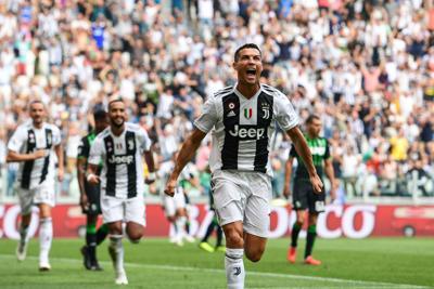 Ronaldo si sblocca, Juve batte Sassuolo