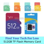 512GB TF Flash Card Micro SD Scheda di memoria memory Stick classe 10 adattatore…