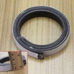 Nastro adesivo fai da te 1m gomma magnetica flessibile banda magnetica 10 x1mm  …