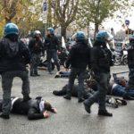Lazio-Eintracht, caos e scontri fra tifosi