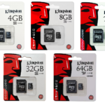 KINGSTON MICRO SD 64 GB CLASSE 10 SCHEDA DI MEMORIA CON ADATTATORE SD