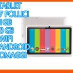 TABLET PC 7 POLLICI M1 QUADCORE ANDROID WIFI 3G DUAL CAMERA NO SIM CUSTODIA 10