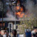 Incendio Tmb Salario, nella notte dopo il rogo aumentati i valori di idrocarburi e diossine