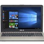 Asus VivoBook Notebook, 15.6″ HD LED, Processore Intel Celeron N3350, RAM 4 GB, Hard Disk 500GB, Windows 10, Argento [Layout Italiano] [Italia]