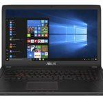 Asus FX753VD-GC193T Notebook, 17.3″, Intel Core i7-7700HQ, SDD da 256 GB e HDD da 1 TB, 16 GB RAM, nVidia GeForce GTX 1050, Nero