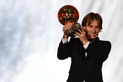 Modric vince il Pallone d'oro