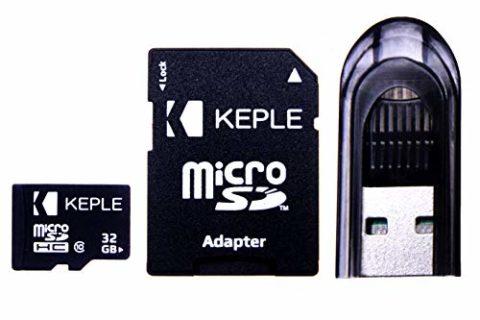 Scheda di memoria Micro SD da 32GB di Keple   per TomTom (Tom Tom) GO 6200, 6100, 6000, 5200, 5100, 5000, 950, 750, 740, 610, 600, 550, 540, 520, 510, 500 Navigatore Satellitare Sat Nav   32 GB SDHC