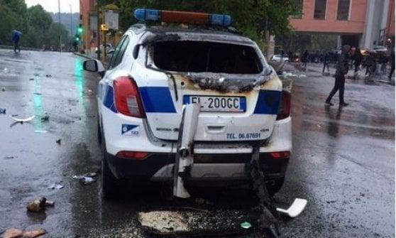 Roma, finale di Coppa Italia Lazio-Atalanta: tensione tra tifosi e forze dell'ordine. Vigile ferito