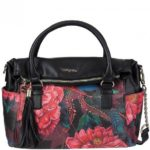Desigual 17waxpb4-bols-loverty Paris, Borsetta da Polso Donna
