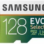 Samsung MB-ME128GA/EU EVO Select Scheda MicroSD da 128 GB, UHS-I, fino a 100 MB/s, Adattatore SD Incluso