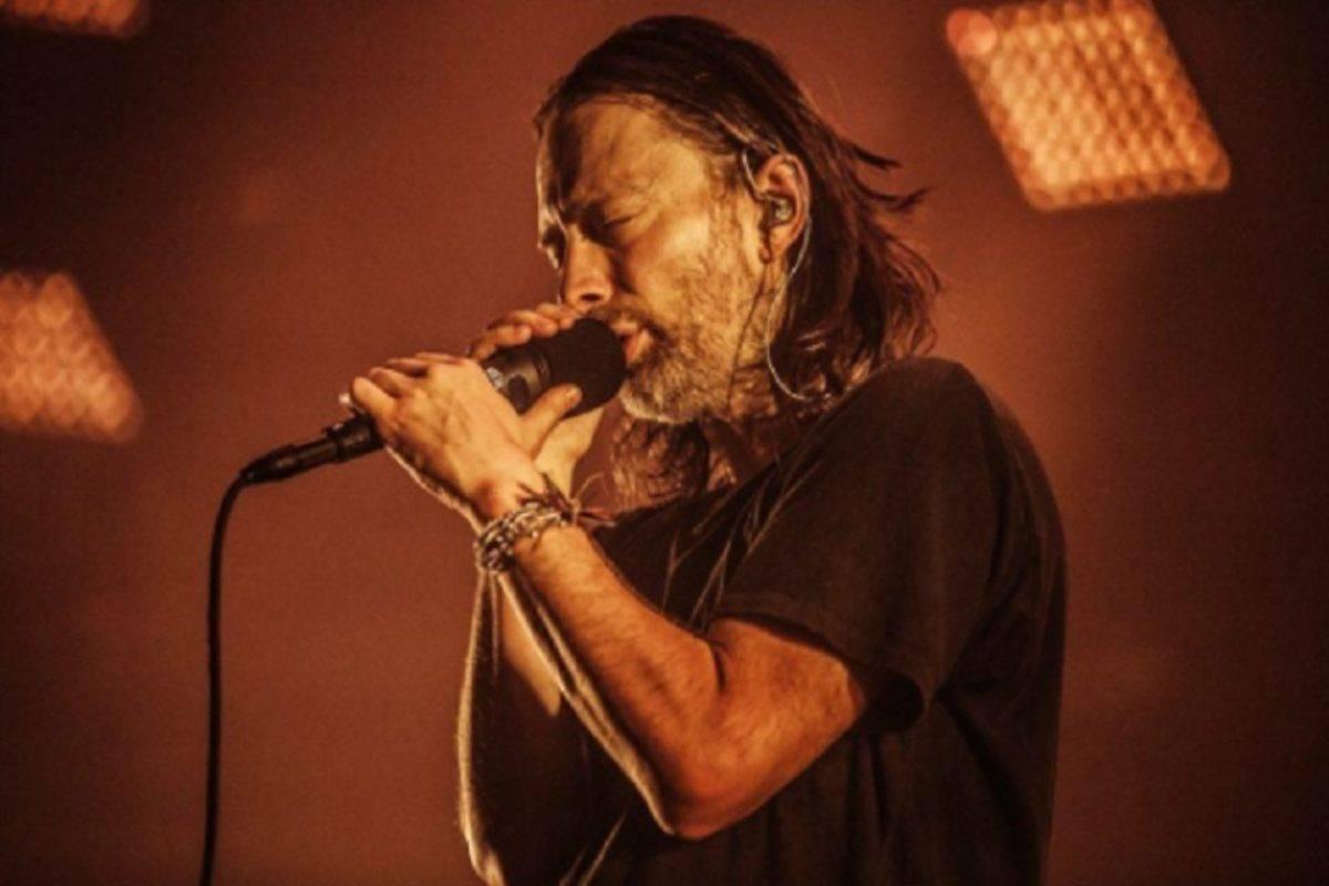 Thom Yorke dei Radiohead