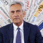 """Gravina: """"Sorteggio girone ritorno Serie A? Credo sia giusto"""""""