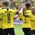 Bundesliga, il Borussia Dortmund parte forte: cinquina all'Augsburg