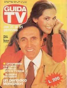 Pippo Baudo e Barbara d'Urso Guida Tv