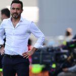 """Sassuolo, De Zerbi: """"Ottima Inter, noi coraggiosi solo nel finale"""""""