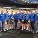 Ciclismo: Europei pista, Italia maschile argento nel quartetto