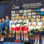 Ciclismo, Europei pista: altre due medaglie azzurre dall'inseguimento a squadre