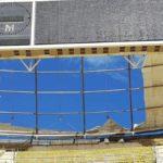 Maltempo, a Bari il vento lacera il telone di copertura dello stadio progettato da Renzo Piano
