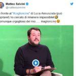 'Coglioncino', Salvini incassa e rilancia su Twitter