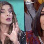 """Alba Parietti telefona arrabbiata in diretta da Caterina Balivo: """"Faccio fatica a mantenere la calma, non si deve permettere.."""""""