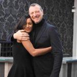 Sanremo: Rula Jebreal prova all'Ariston tra glam ed emozione