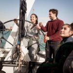 Vela: in barca con il campione, Beccaria a Ostia con Save the Children