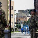 Coronavirus, finisce quarantena per italiani a Cecchignola