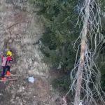 Courmayeur, bambini bloccati in un canalone per recuperare il bob: salvati dall'elisoccorso