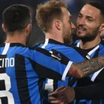 Europa League, Ludogorets-Inter 0-2: primo gol per Eriksen, poi la chiude Lukaku