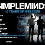 Simple Minds  Gli show inizialmente previsti nell'estate 2020 (11 luglio a Pisto…