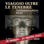 """Viaggio oltre le tenebre. Tutankhamon real experience  La mostra """"Viaggio oltre …"""