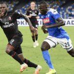 Napoli-Milan 2-2, un rigore di Kessié rovina la notte dell'amarcord di Gattuso