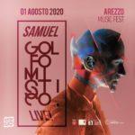 Samuel Appuntamento sabato 1 agosto all'Anfiteatro Romano di Arezzo con Samuel, …